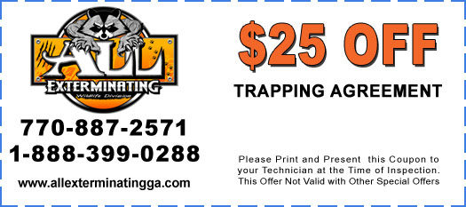 $25 Off Trapping Agreement