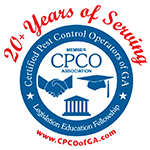 Certified Pest Control Operators of Georgia - 20+ Years of Serving - Legislation Education Fellowship CPCOofGA.com